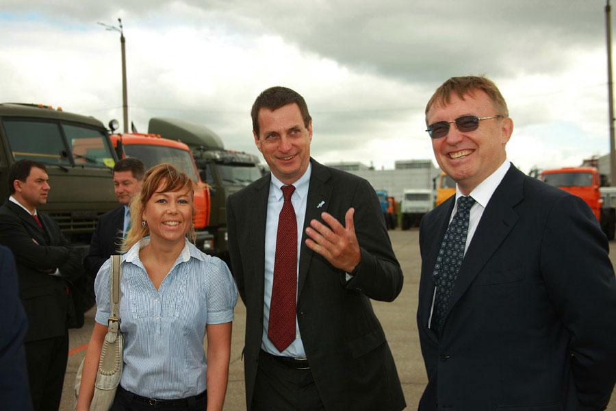 Bosch посетили КАМАЗ с рабочим визитом